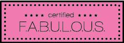 certified fabulous logo